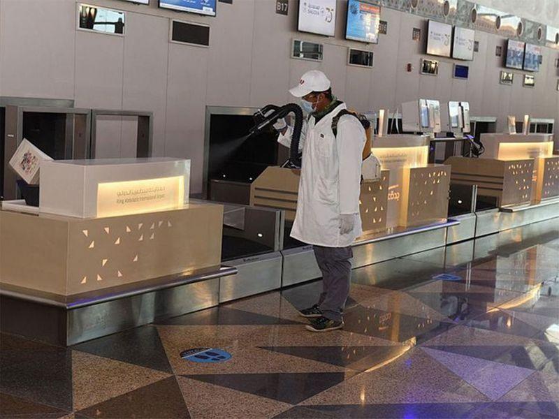 Domestic flight saudi