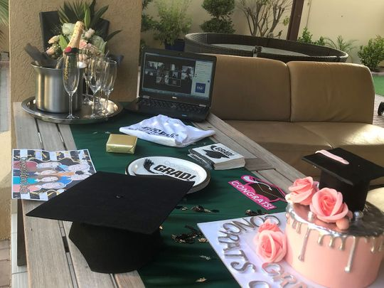 Graduation ceremonies take place via Zoom for Dubai's Class of 2020