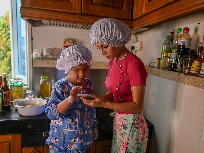 'Little Chef' charms Myanmar