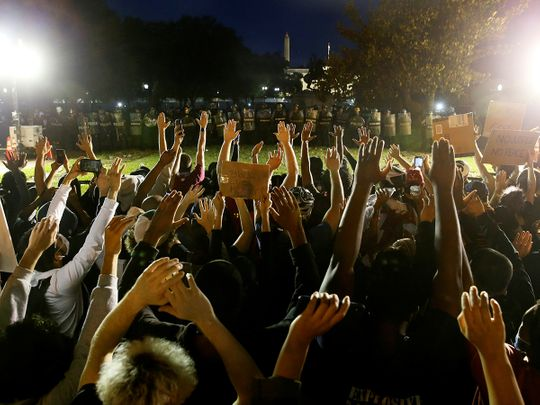 Washington curfew imposed as protests near White House