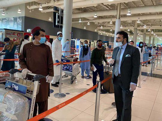 Afghan repatriated