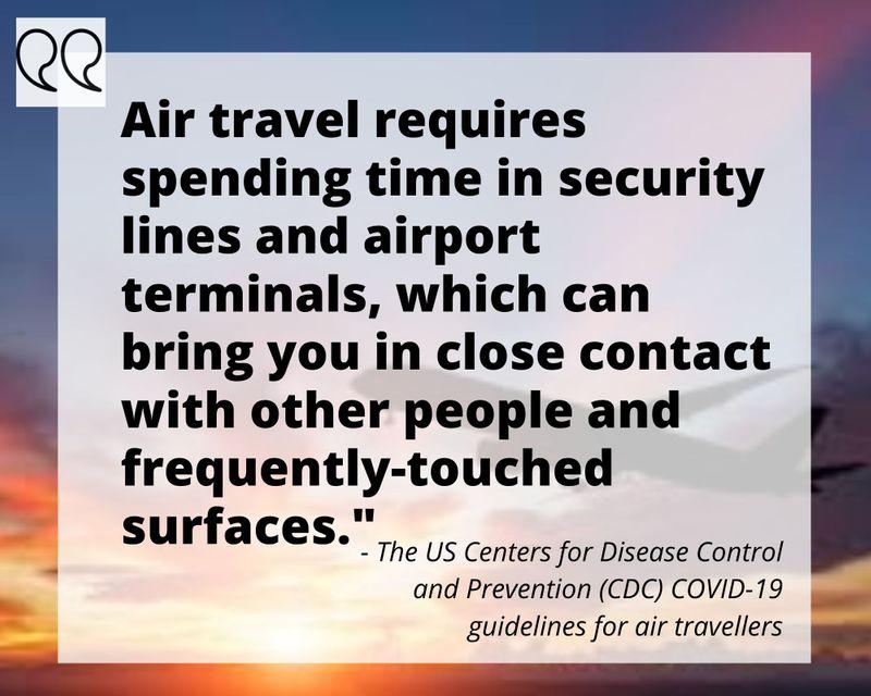 CDC air travel