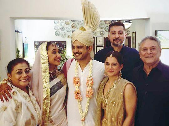 Danyal Raheal weds Feryal Mehmood-1590997790023