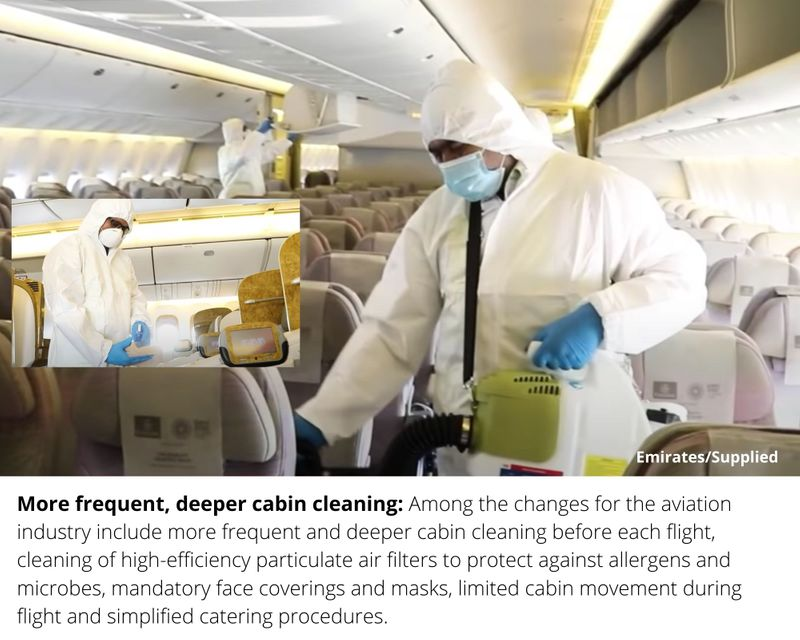 Emirates deep cleaning