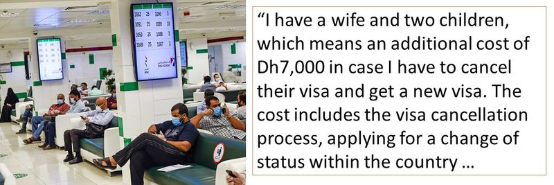 Family visa can be put on hold