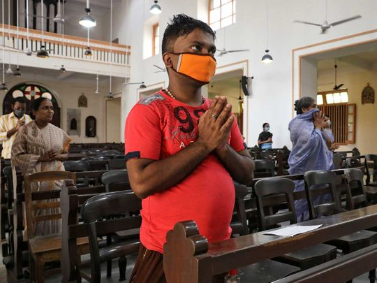 India church pray
