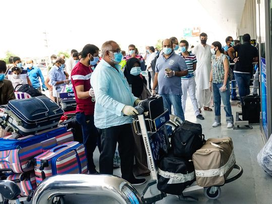 Repatriation flights from UAE to India
