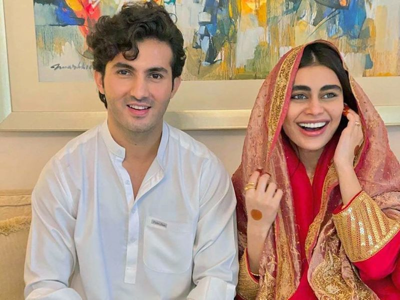 Sadaf Kanwal and Shehroz Sabzwari-1590997786523