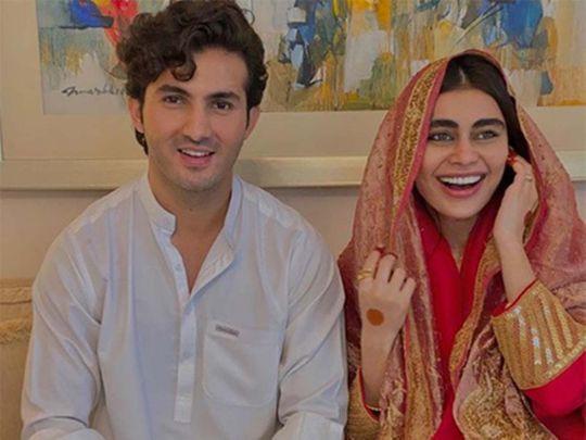 Shahroz Sabzwari and Sadaf Kanwal