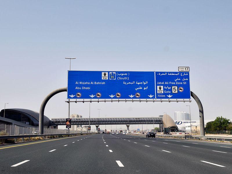 Abu Dhabi restriction movements