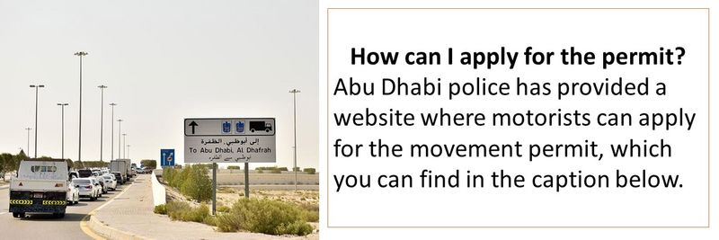 How to apply for Abu Dhabi permit