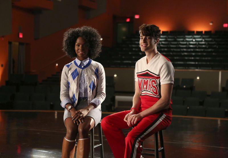 Samantha Ware in Glee