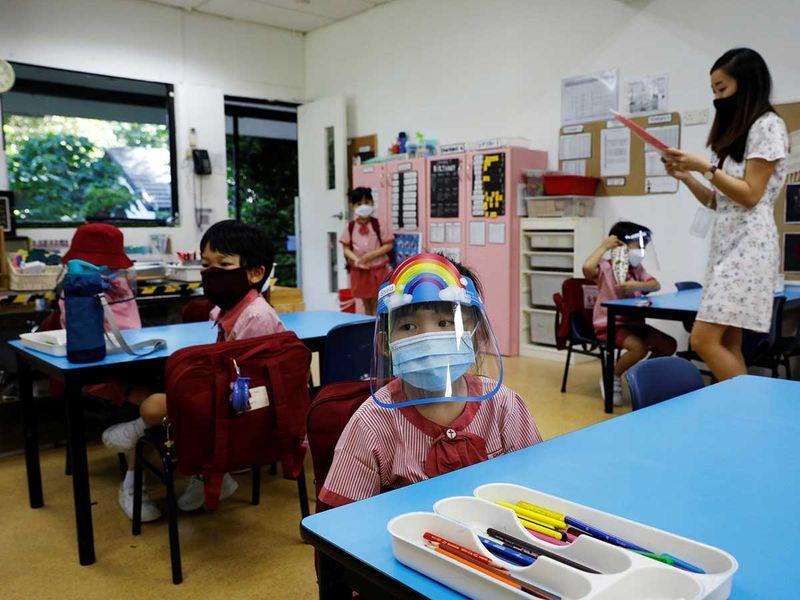 Singapore face masks children