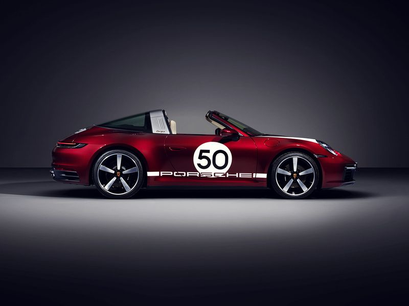 2021 Porsche 911 Targa 4s Heritage Design Edition Is A Nod To The 50s And 60s Auto News Gulf News