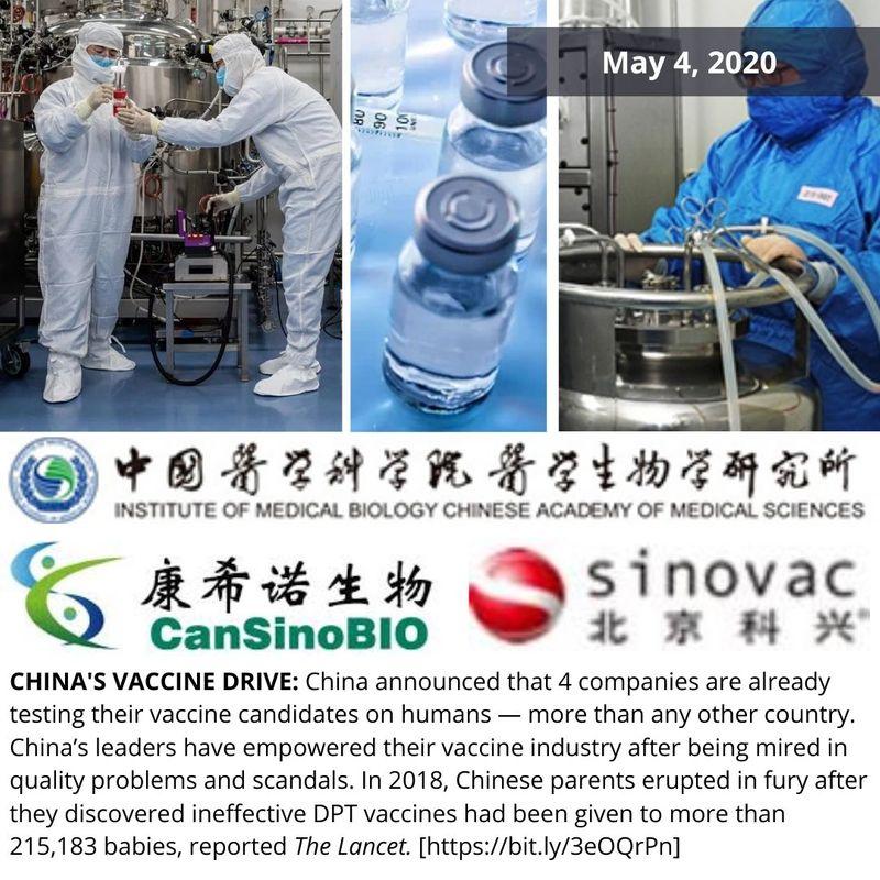 China vaccine drive