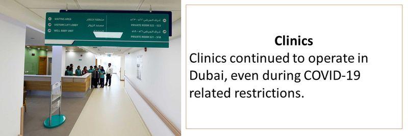 Dubai - all that's open