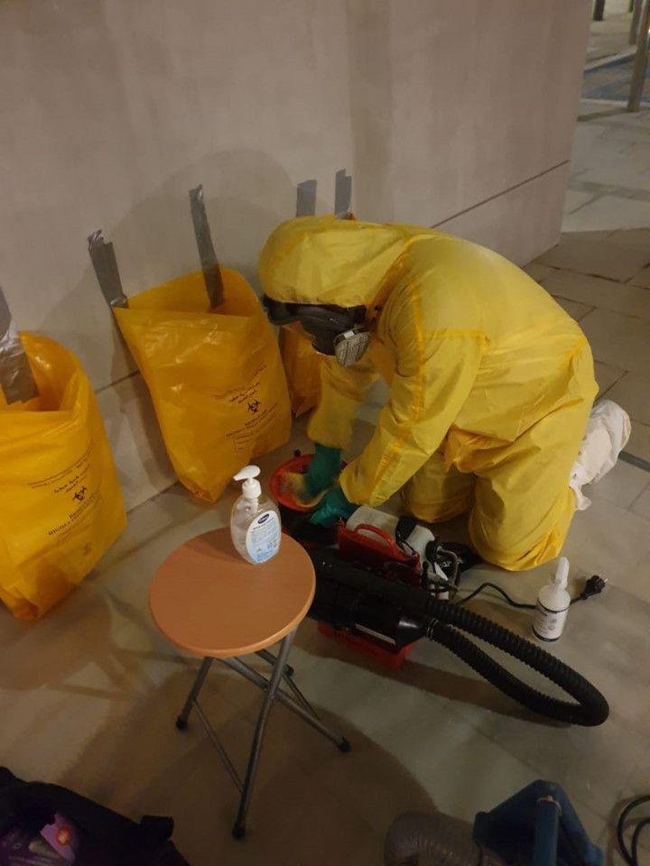 NAT 200603 Rentokil technicians on a Covid-19 disinfection drive4-1591192600677