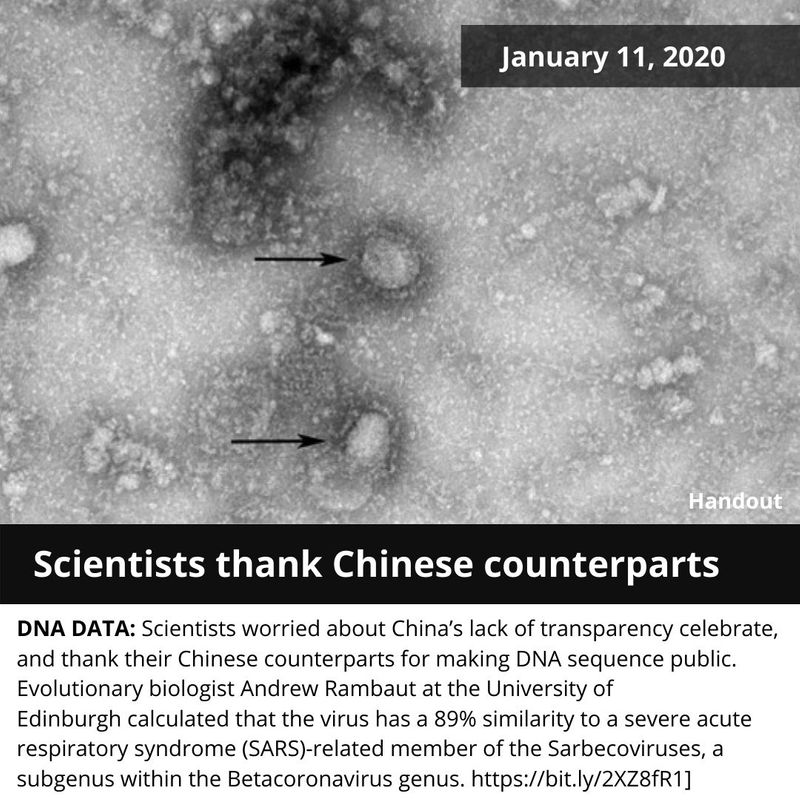 Scientists thank their Chinese counterparts