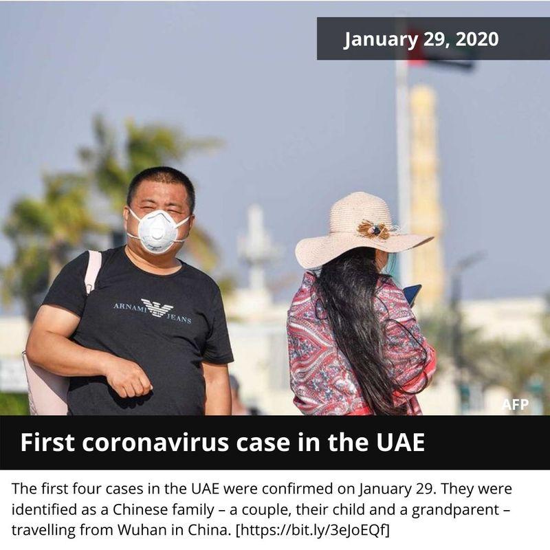 first coronavirus uae