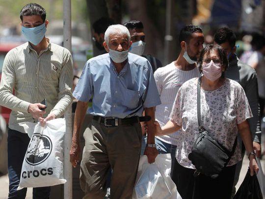 Cairo masks coronavirus Egypt