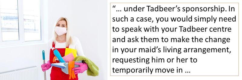 Can my maid return
