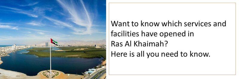 Ras Al Khaimah - What's open