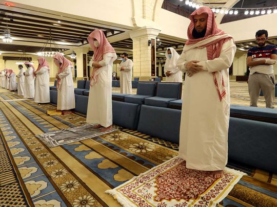 Saudi Arabia mosque prayer