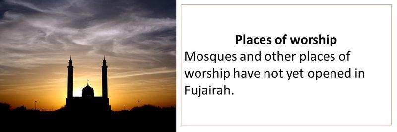 fujairah - what's open