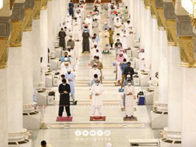Friday Prayers Medina Prophet Mosque