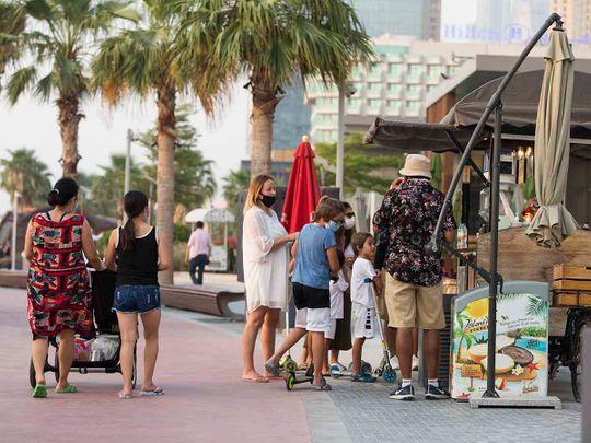 Life back on the streets of Dubai amid COVID-19