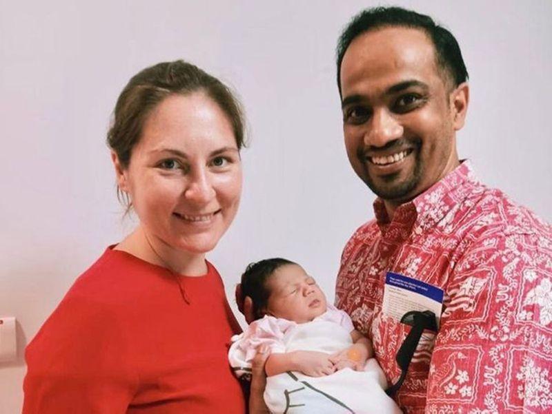 NAT Rana Mukherjee wife Tetyana Polunina-1591424934700
