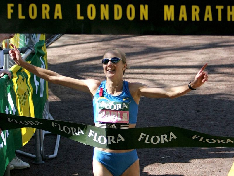 Paula Radcliffe is a multiple marathon winner and former world record holder.