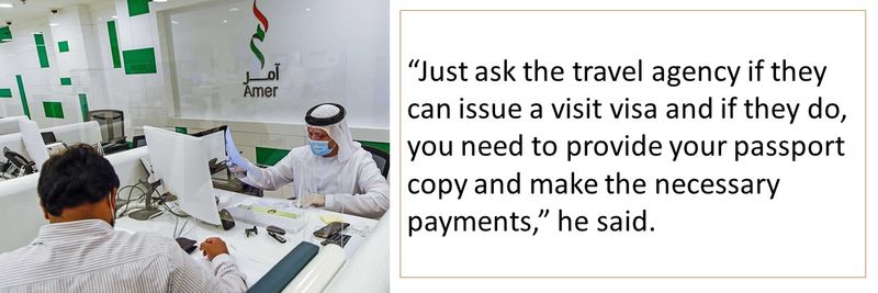 UAE visa holder