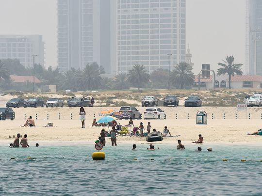 221 people fined in one day on Dubai's beaches