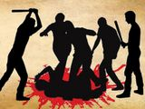 Beaten to death, murder, crime scene