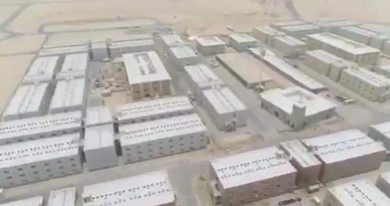 Massive quarantine facility opens in Abu Dhabi