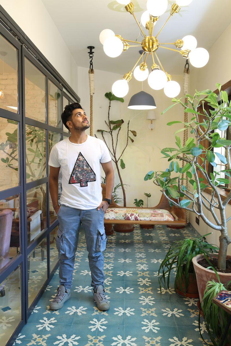 interior designer Rupin Suchak