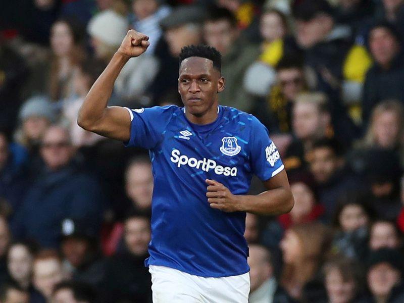 Everton's Yerry Mina