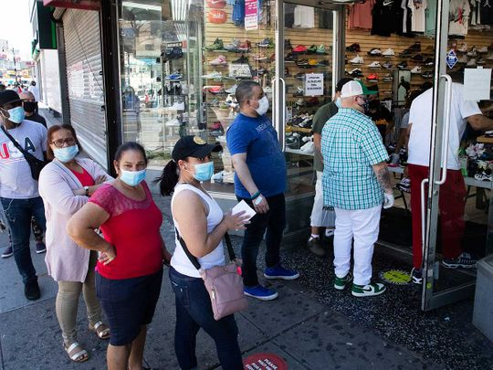New york US reopens Sneaker Box Bronx