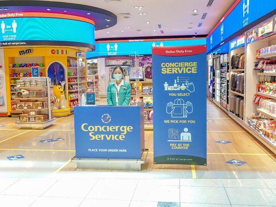 concierge dubai duty free