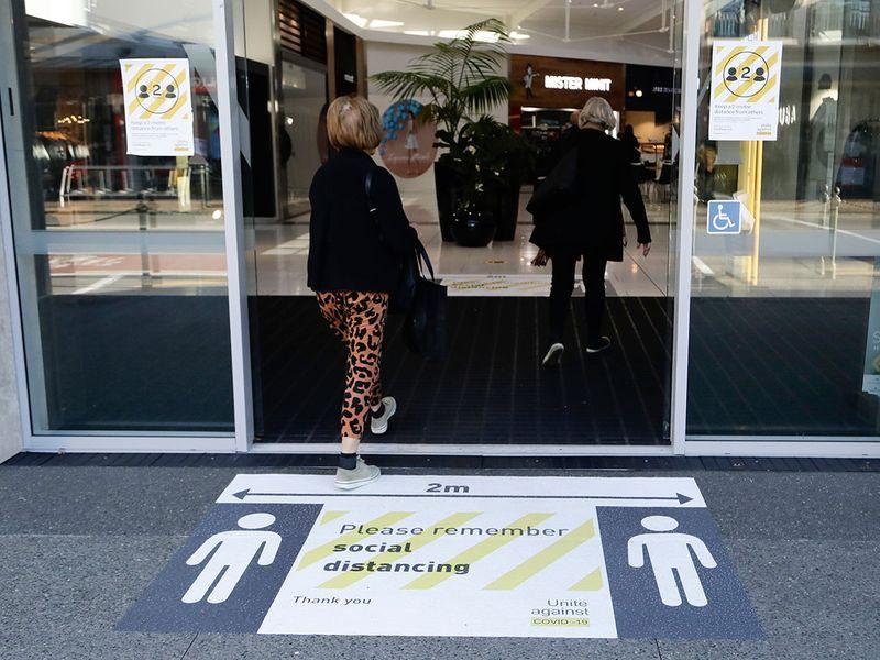 New Zealand shopping centre