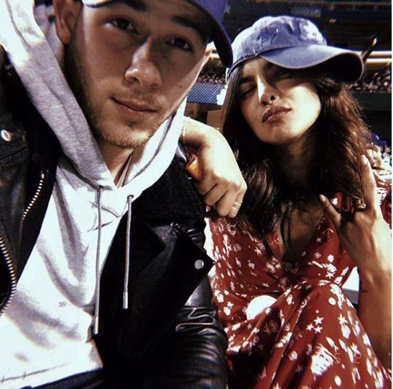 Nick Jonas and Priyanka Chopra Jonas