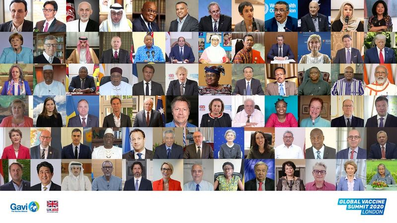 Gavi vaccine Representatives from 52 countries