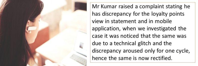 Noor Bank complaint - Mr Kumar