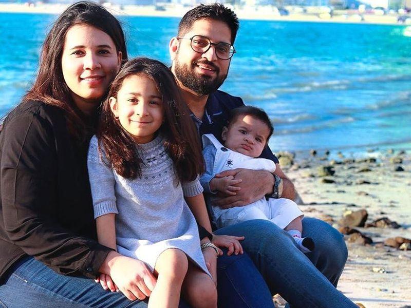 Sharrah Kapadia and family