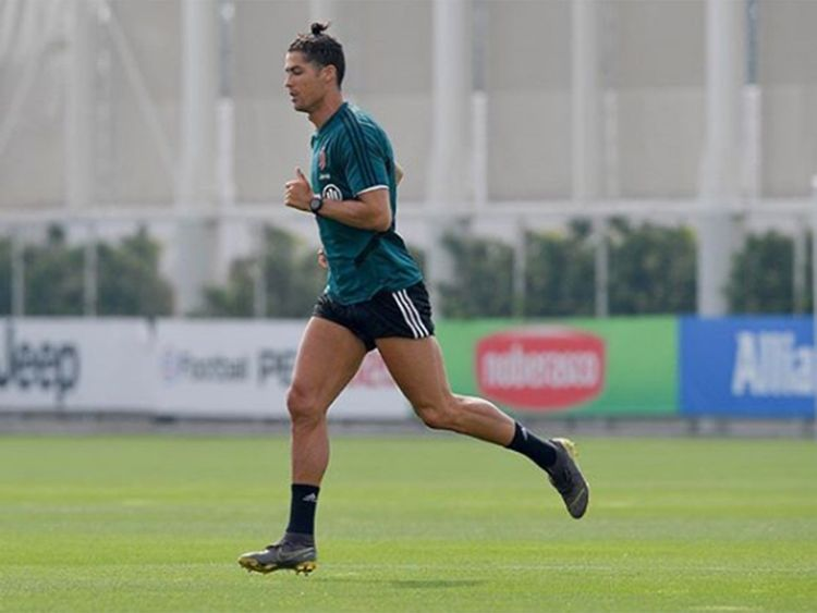 Watch Cristiano Ronaldo Stuns Juventus By Returning From Covid 19 Lockdown Stronger Than Ever Football Gulf News