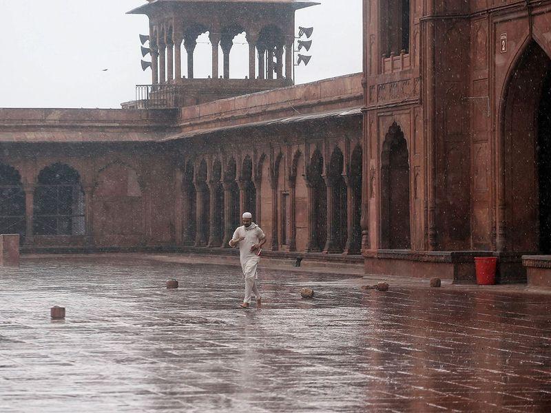 Rain in Delhi 2