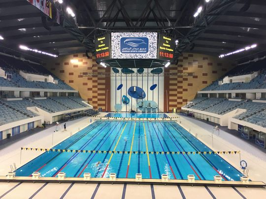 Hamdan Sports Complex is now able to resume its swimming activities