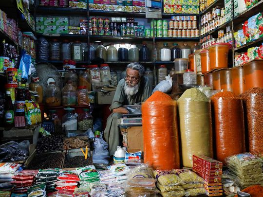 Karachi shopkeeper spices