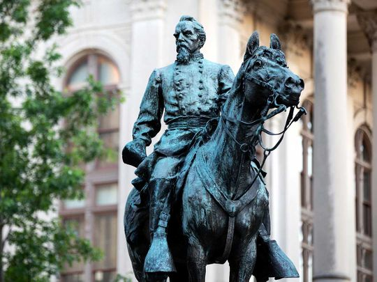 Confederate-statue